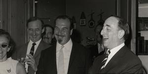 Press Launch - Gerard Ettinger on the far right