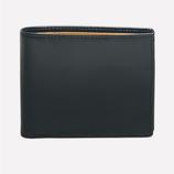 Ettinger London Luxury Leather Ettinger Grey London Tan Billfold Wallet with 6 C/C