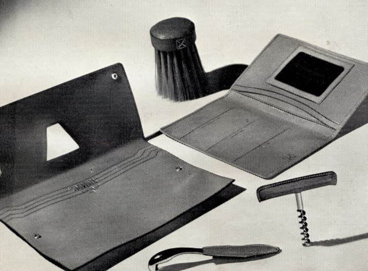 Finest leather wallets in 1949
