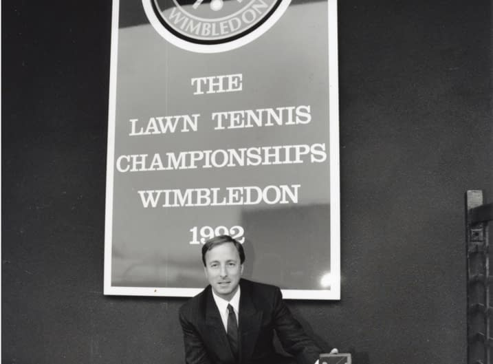 Ettinger is granted a product licence for leather goods and souvenirs at Wimbledon Tennis Championships