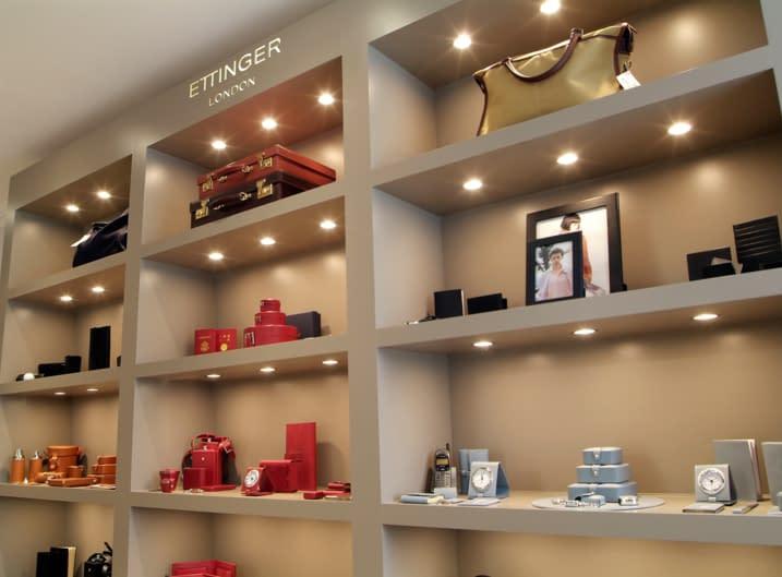 Luxury leather showroom in Putney