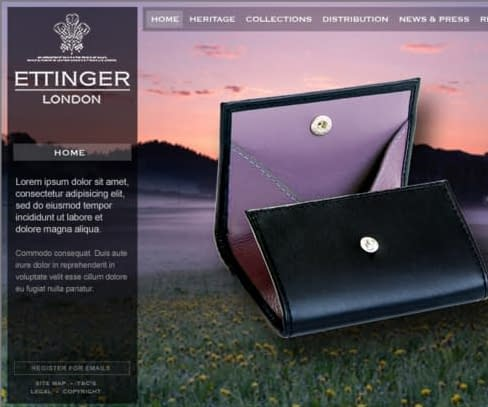 The dawn of a new era for luxury leather brand Ettinger