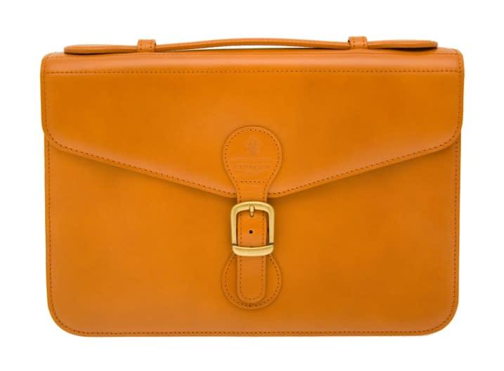 Luxury leather satchel like no other