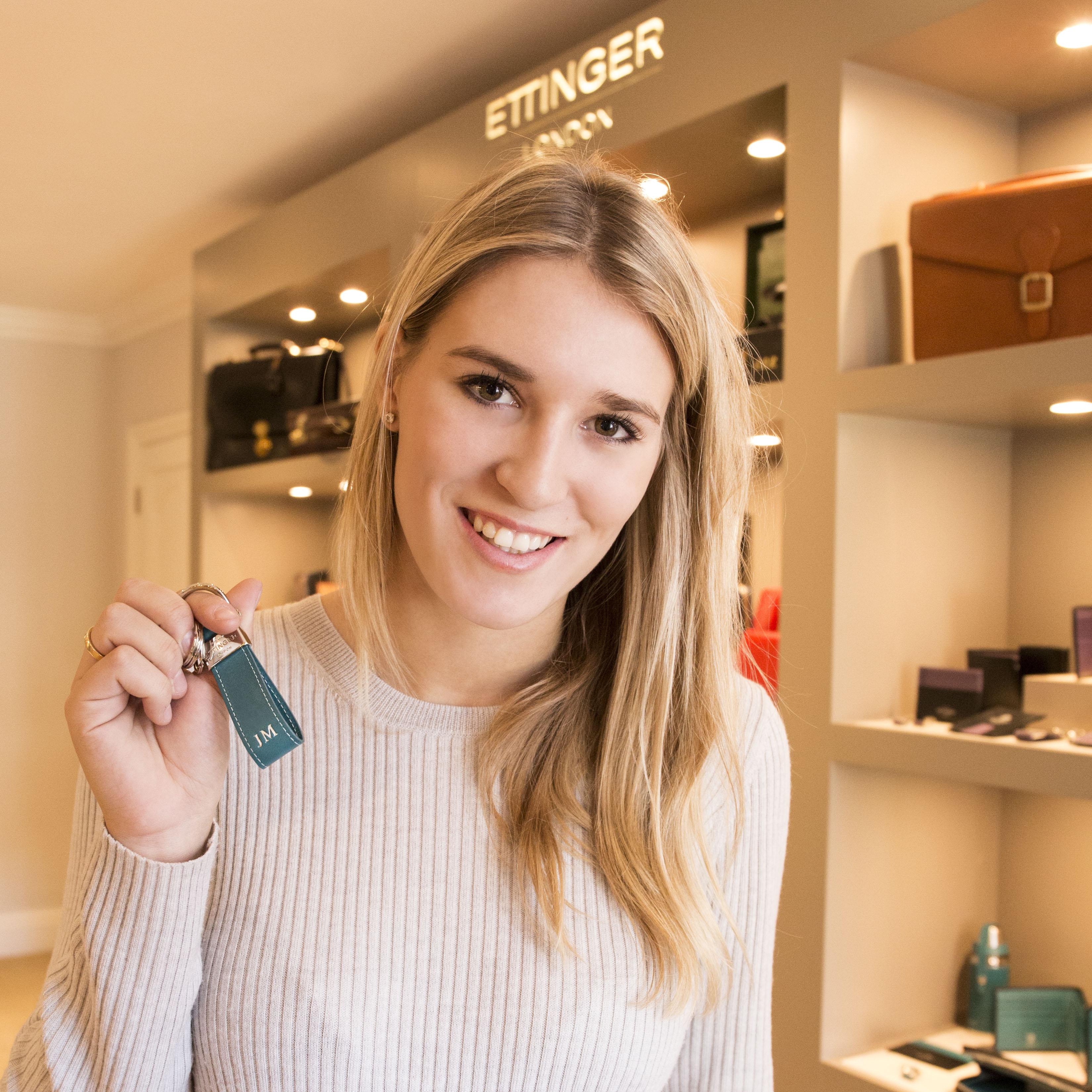 Jess Mendoza, Ettinger's luxury lifestyle brand ambassador