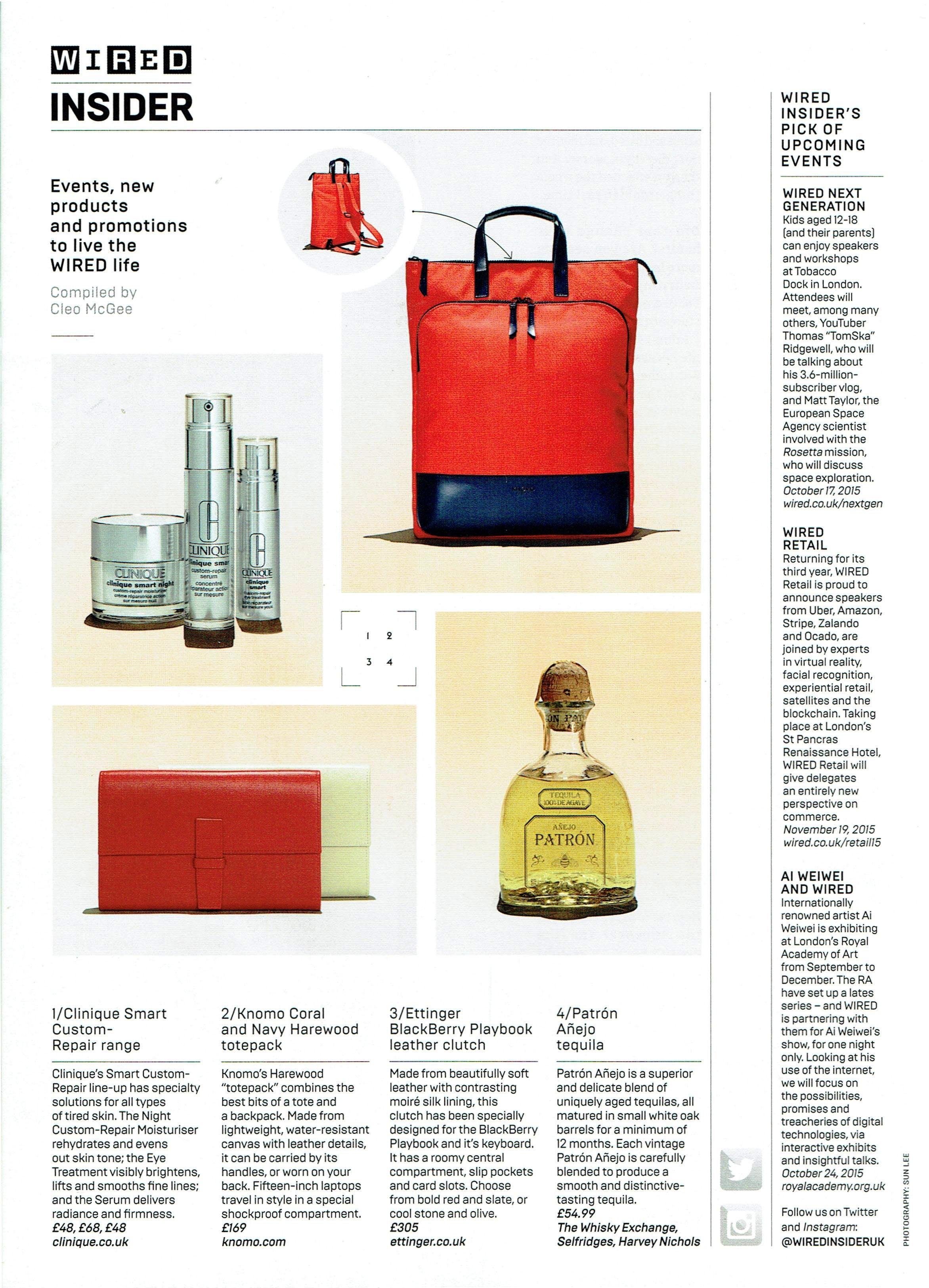 Wired - Nov \'15 | Ettinger London